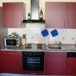 Moderne Küchenausstattung in allen Wohnungen