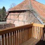 Balkon von Wohnung Karola