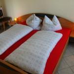 Schlafzimmer in allen Wohnungen ähnlich ausgestattet