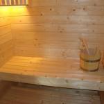 Sauna in Wohnung Sabine