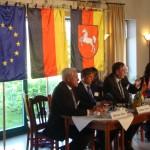 EU-Agrarkommissar Ciolos besucht unseren Hof mit anschl. Pressekonferenz im Bauerncafe.